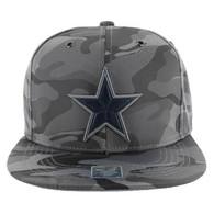 SM013 Star Snapback Cap (Solid Grey Military Camo)
