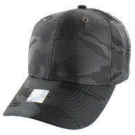 VP100 Blank Velcro Cap (Solid Charcoal Military Camo)