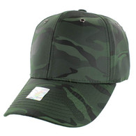 VP100 Blank Velcro Cap (Solid Olive Military Camo)