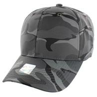 VP100 Blank Velcro Cap (Solid Grey Military Camo)