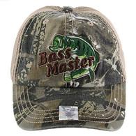 VM143 Bass Master Mesh Cap (Hunting Camo & Khaki)