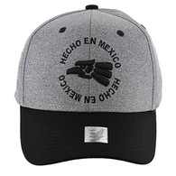 VM134 Hecho En Mexico Eagle Snapback (Heather Grey & Black)