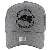 VM134 Hecho En Mexico Eagle Snapback (Heather Grey & Heather Grey)
