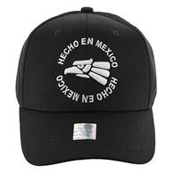 VM134 Hecho En Mexico Eagle Snapback (Black & Black)
