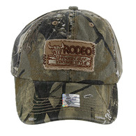 BM151 Rodeo Vintage Buckle Cap (Solid Hunting Camo)