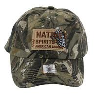 BM151 Native Spirits Buckle Cap (Solid Hunting Camo)
