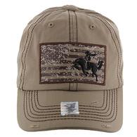 BM001 Cowboy Buckle Cap (Solid Khaki)