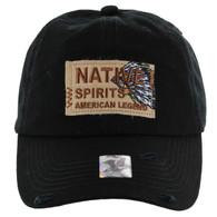BM151 Native Spirits Buckle Cap (Solid Black)