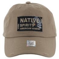 BM151 Native Spirits Buckle Cap (Solid Khaki)