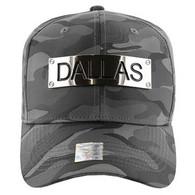 VM013 Dallas Velcro (Solid Grey Military Camo)