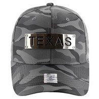 VM013 Texas Velcro (Solid Grey Military Camo)
