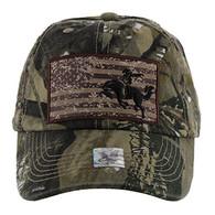 BM001 Cowboy Buckle Cap (Solid Hunting Camo)