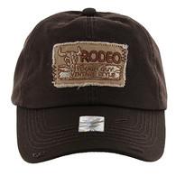 BM151 Rodeo Vintage Buckle Cap (Solid Brown)