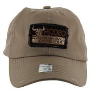 BM151 Rodeo Vintage Buckle Cap (Solid Khaki)
