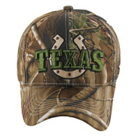 VM002 Texas Baseball Cap Hat (Solid Hunting Camo)