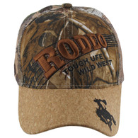 VM170 Rodeo Velcro Cap (Solid Hunting Camo)
