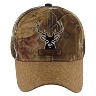 VM121 Deer Hunter Velcro Cap (Solid Hunting Camo)