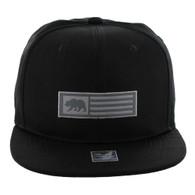 SM1007 Cali Bear Snapback Cap (Solid Black)