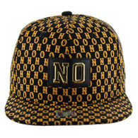 SM093 New Orleans Snapback (Solid Black)