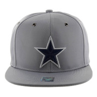 SM100 Star Snapback Cap (Solid Light Grey)