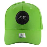 VM790 Hecho En Mexico PU Baseball Cap (Solid Lime)