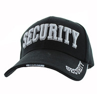 VM036 Security Velcro Cap (Solid Black)