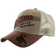 VM170 Rodeo Mesh Trucker Cap (Solid Khaki)