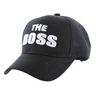 VM192 The Boss Velcro Cap (Solid Black)