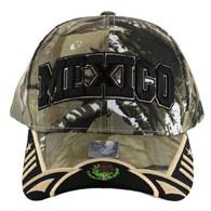 VM421 Mexico Velcro Cap (Hunting Camo & Black)