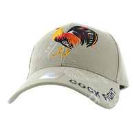 VM274 For Kids Cock Velcro Cap (Solid Khaki)