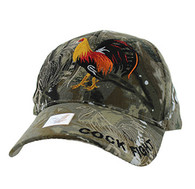 VM274 For Kids Cock Velcro Cap (Solid Hunting Camo)