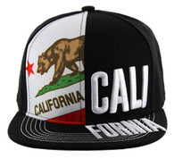 SM2002 Cali Bear Snapback (Solid Black)