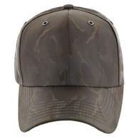 VP9062 Blank Baseball Velcro Cap (Brown & Brown)