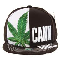SM2002 Marijuana Cannabis Snapback (Brown)