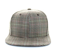 SP351 Blank Cotton Snapback (Solid Brown)