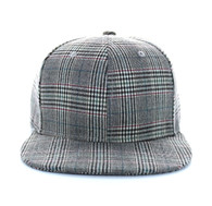 SP351 Blank Cotton Snapback (Solid Dark Grey)