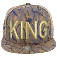 SM062 KING (NYLON KHAKI BLUE CAMO)