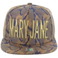 SM062 MARY JANE (NYLON KHAKI BLUE CAMO)