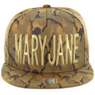 SM062 MARY JANE (NYLON KHAKI CAMO)