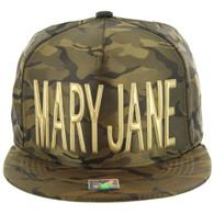 SM062 MARY JANE (NYLON OLIVE CAMO)