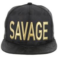 SM062 SAVAGE (NYLON BLACK CAMO)