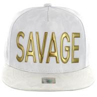 SM062 SAVAGE (NYLON WHITE CAMO)