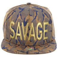 SM062 SAVAGE (NYLON KHAKI BLUE CAMO)