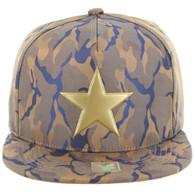 SM062 STAR (NYLON KHAKI BLUE CAMO)
