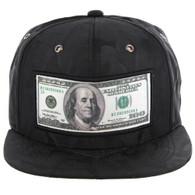 SM819 DOLLAR , NYLON CAMO (BLACK)