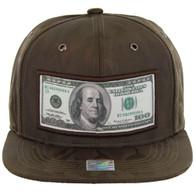 SM819 DOLLAR , NYLON CAMO (BROWN)
