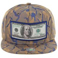 SM819 DOLLAR , NYLON CAMO (KHAKI BLUE)