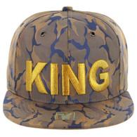 SM819 KING , NYLON CAMO (KHAKI BLUE)