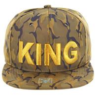SM819 KING , NYLON CAMO (KHAKI)