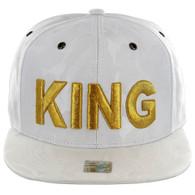 SM819 KING , NYLON CAMO (WHITE)